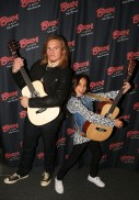 "NEW YORK, NY - MARCH 14: Tony Cavalero and Breanna Yde promote thier New Nickelodeon TV Series (based on the film) ""School Of Rock"" at Buca di Beppo Times Square on March 14, 2016 in New York City. (Photo by Bruce Glikas/FilmMagic) *** Local Caption *** Tony Cavalero; Breanna Yde"