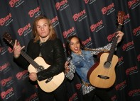 """NEW YORK, NY - MARCH 14: Tony Cavalero and Breanna Yde promote thier New Nickelodeon TV Series (based on the film) """"School Of Rock"""" at Buca di Beppo Times Square on March 14, 2016 in New York City. (Photo by Bruce Glikas/FilmMagic) *** Local Caption *** Tony Cavalero; Breanna Yde"""