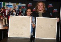 "NEW YORK, NY - MARCH 14: Breanna Yde and Tony Cavalero promote Nickelodeon's New TV Series (based on the film)""School of Rock"" at Planet Hollywood Times Square on March 14, 2016 in New York City. (Photo by Bruce Glikas/Bruce Glikas/FilmMagic) *** Local Caption *** Breanna Yde; Tony Cavalero"