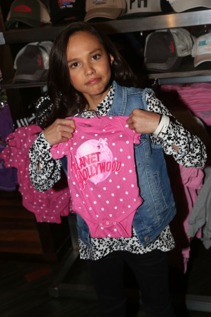 "NEW YORK, NY - MARCH 14: Breanna Yde promotes her New Nickelodeon TV Series (based on the film) ""School Of Rock"" at Planet Hollywood Times Square on March 14, 2016 in New York City. (Photo by Bruce Glikas/FilmMagic) *** Local Caption *** Breanna Yde"